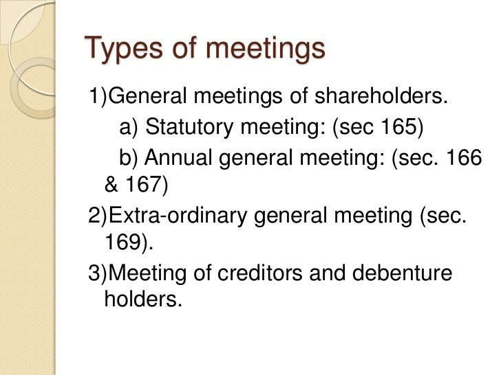 rights and duties of shareholders companies act 1956