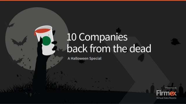 10 Companies Back from the Dead