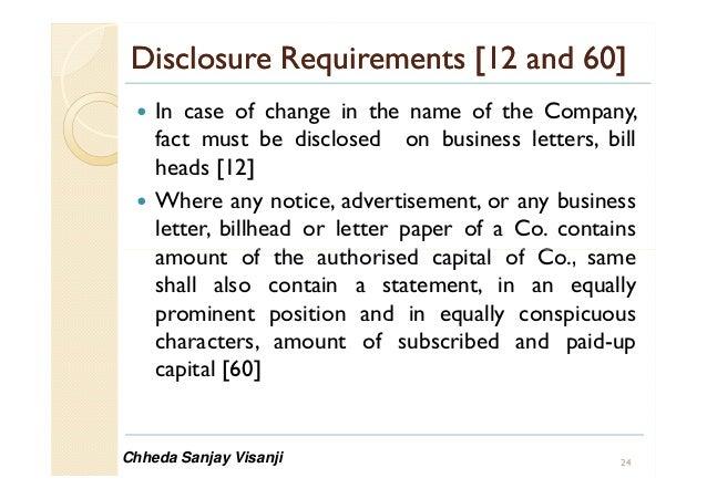 Companies Bill  By Chheda Sanjay Visanji