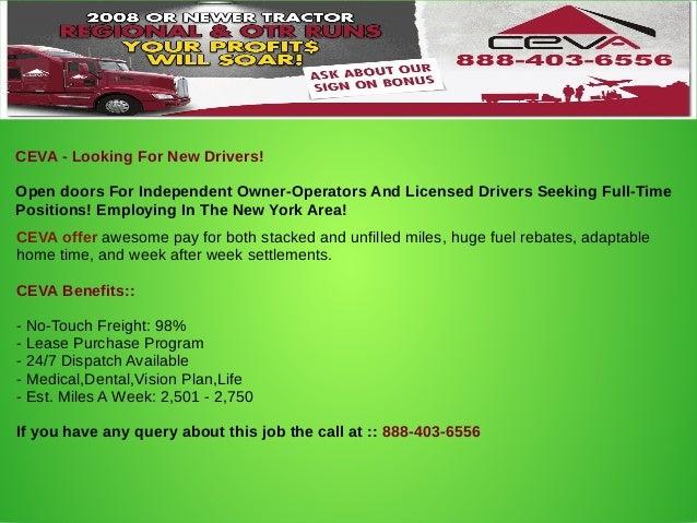 Companies hiring truck drivers