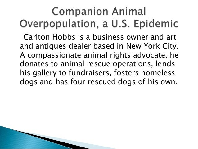 pet overpopulation epidemic Demand for pets creates online pet sales epidemic  in addition, the vast  majority of online pet adverts across the eu lack basic information on the  animal's health and needs, and  cat neutering: the earlier the better to tackle  overpopulation.