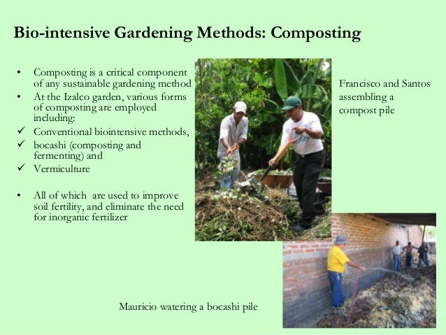 Bio Intensive Gardening ...