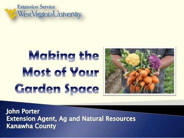 Raised Bed GardeningSquare Foot GardeningSeason ExtendersCompanion- and Inter- Planting