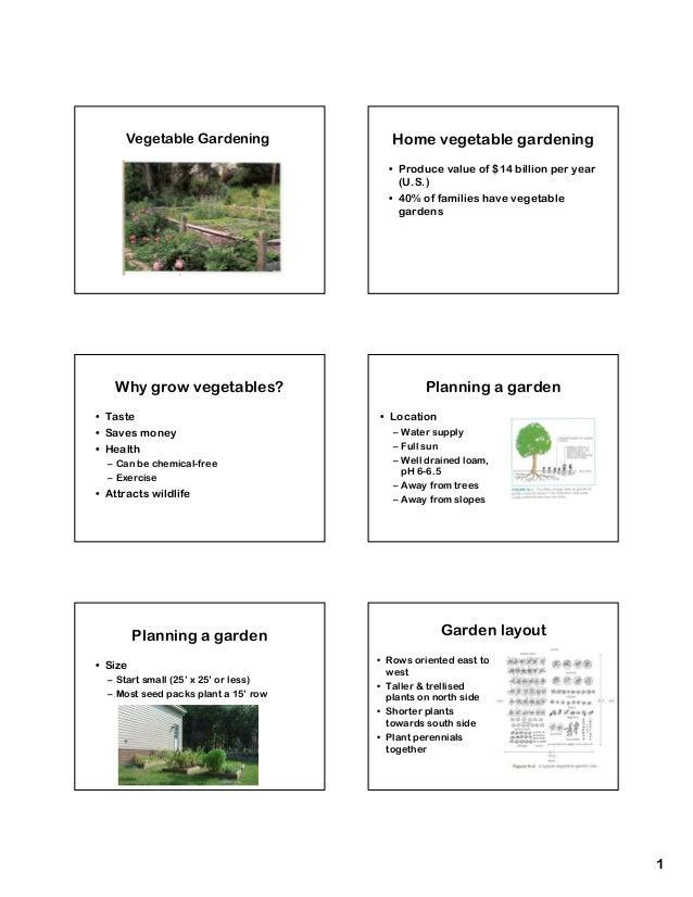 Vegetable Gardening                Home vegetable gardening                                        • Produce value of $14 ...