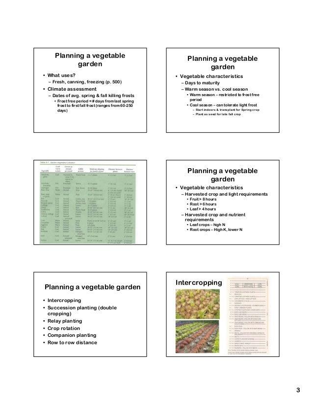 ... 3. Planning A Vegetable Planning A Vegetable Garden ...