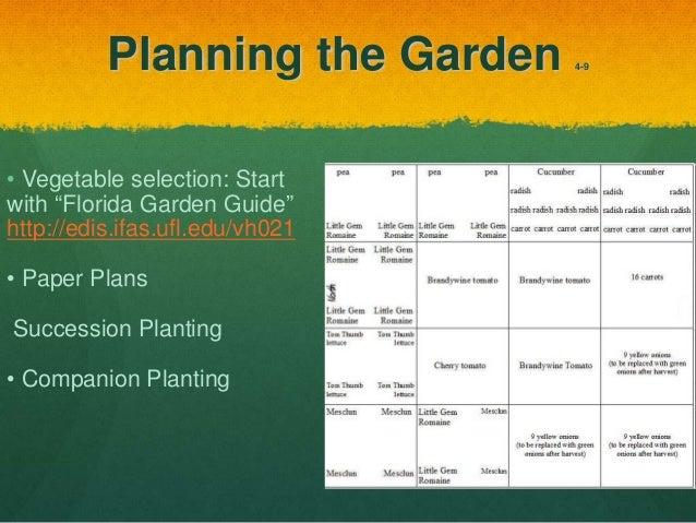 Vegetable Gardening For The South Florida Gardener   Monroe County,  University Of Florida