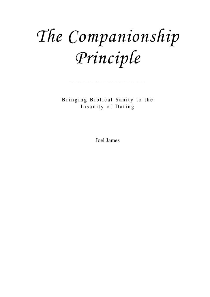 companionship principle