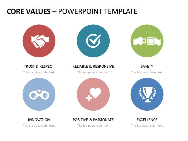 Company core values english templates 42 core values powerpoint template toneelgroepblik Gallery