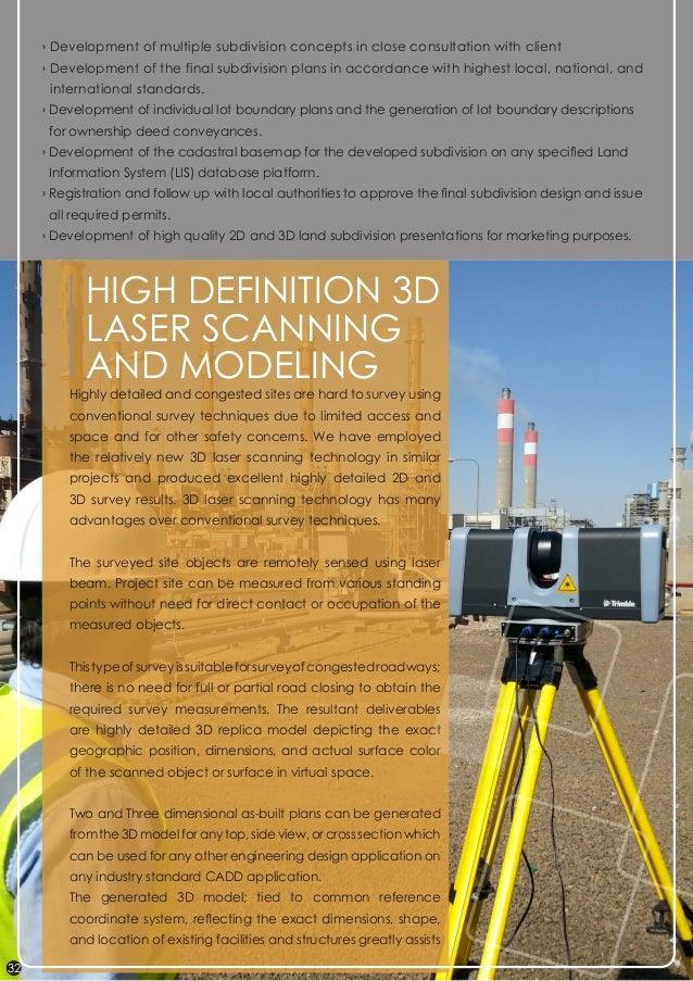 land survey company profile pdf