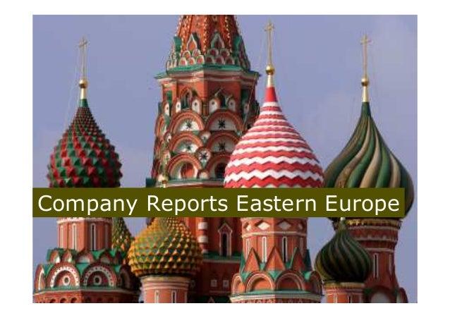Company Reports Eastern Europe