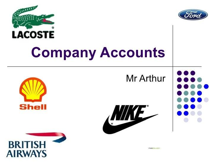 Company Accounts Mr Arthur