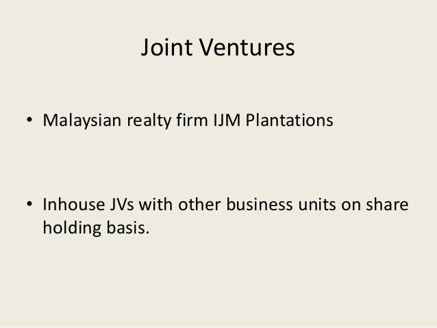 Case Study - International Business Joint Venture