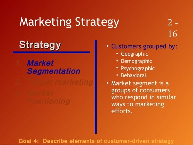the role of market segmentation in guiding Market segmentation is one of the most widely accepted concepts in marketing its fundamental thesis is that, to achieve competitive advantage and, thereby, superior financial performance, firms should (1) identify segments of demand, (2).