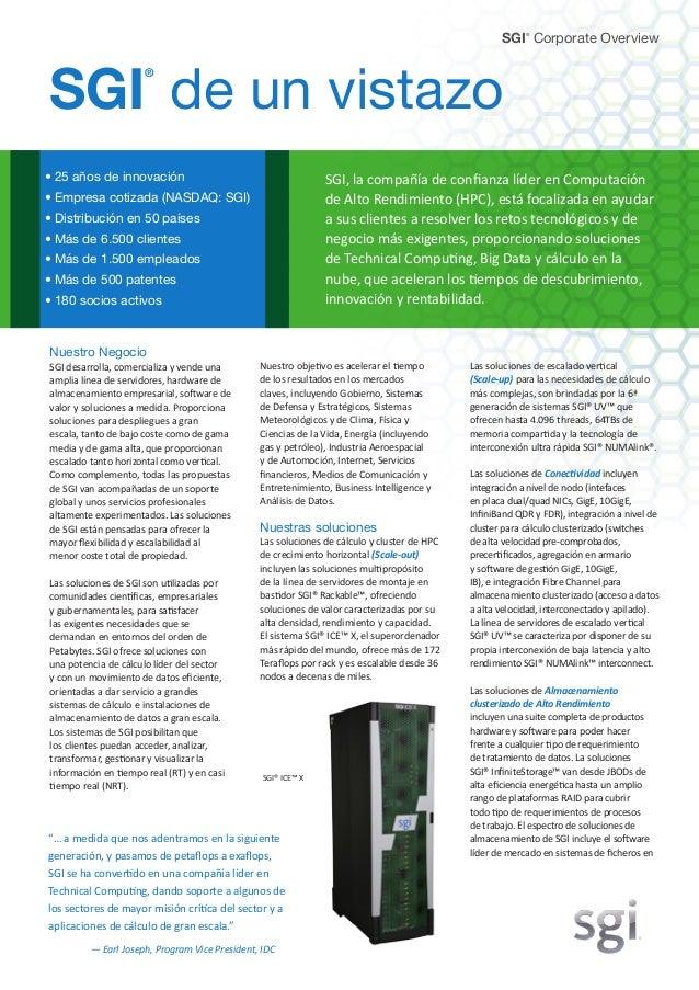 Las soluciones de escalado vertical (Scale-up) para las necesidades de cálculo más complejas, son brindadas por la 6ª gene...