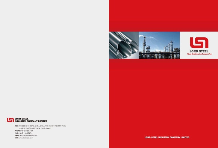 Company Brochure (Latest Version 2011)
