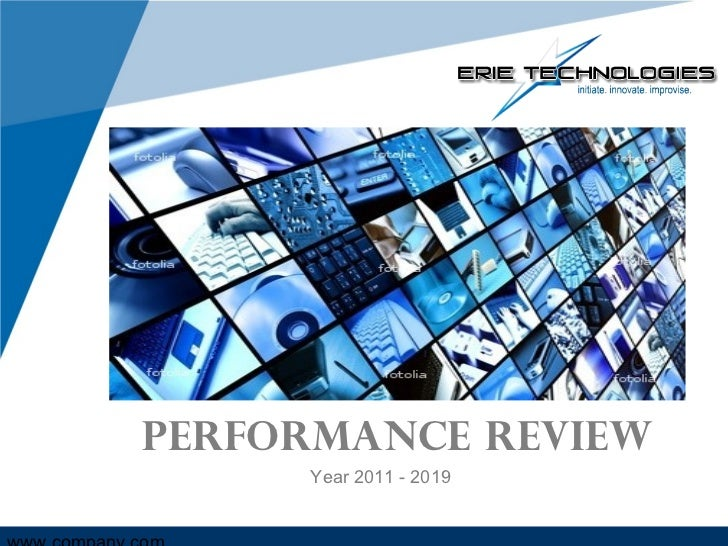 Performance Review Year 2011 - 2019