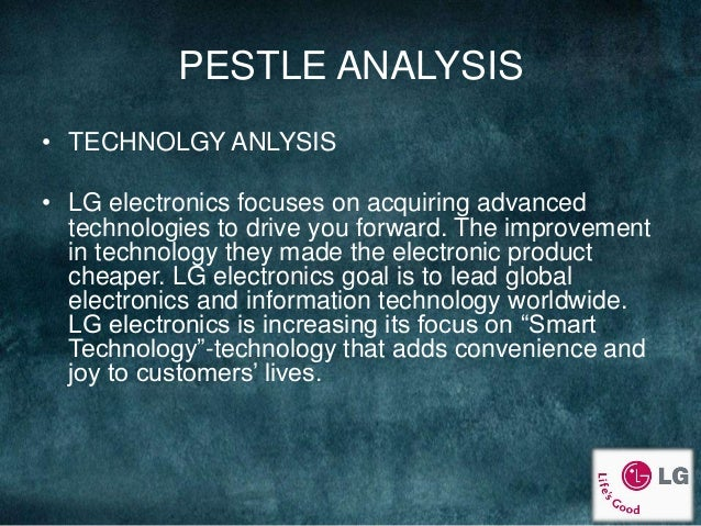 pest analysis lg Lg corporation is korean based international firm former this company was known as lucky-goldstar being the 4th biggest corporation in south korea, its head.