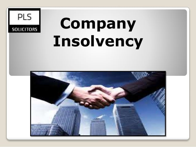 Corporate insolvency: a guide