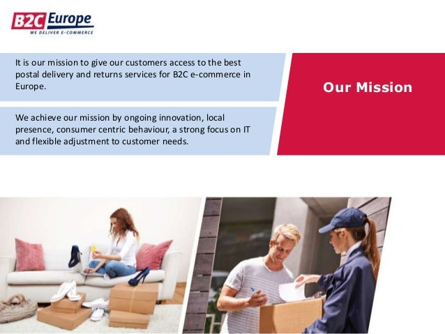 It is our mission to give our customers access to the best postal delivery and returns services for B2C e-commerce in Euro...