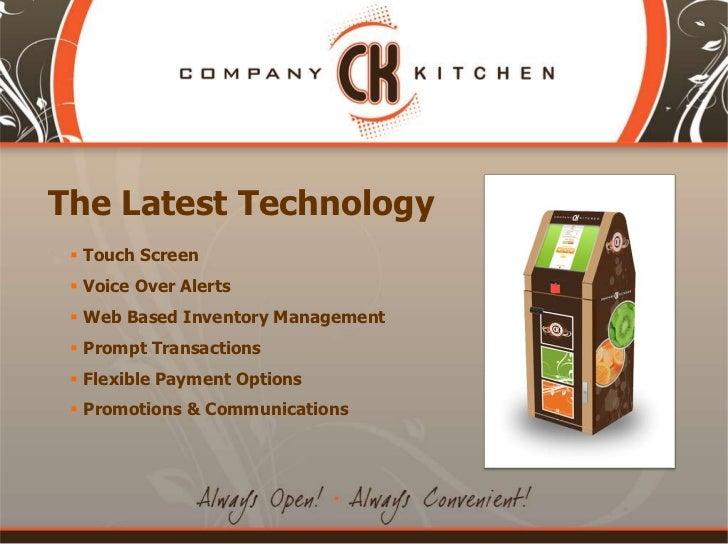 Company Kitchen