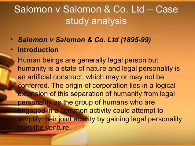 solomon vs solomon
