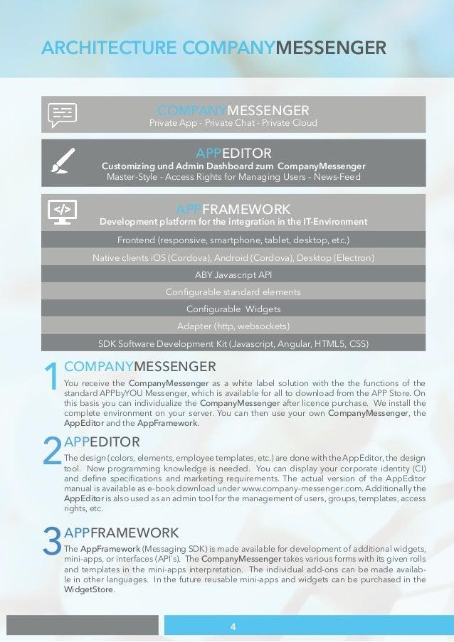 Company Messenger - \