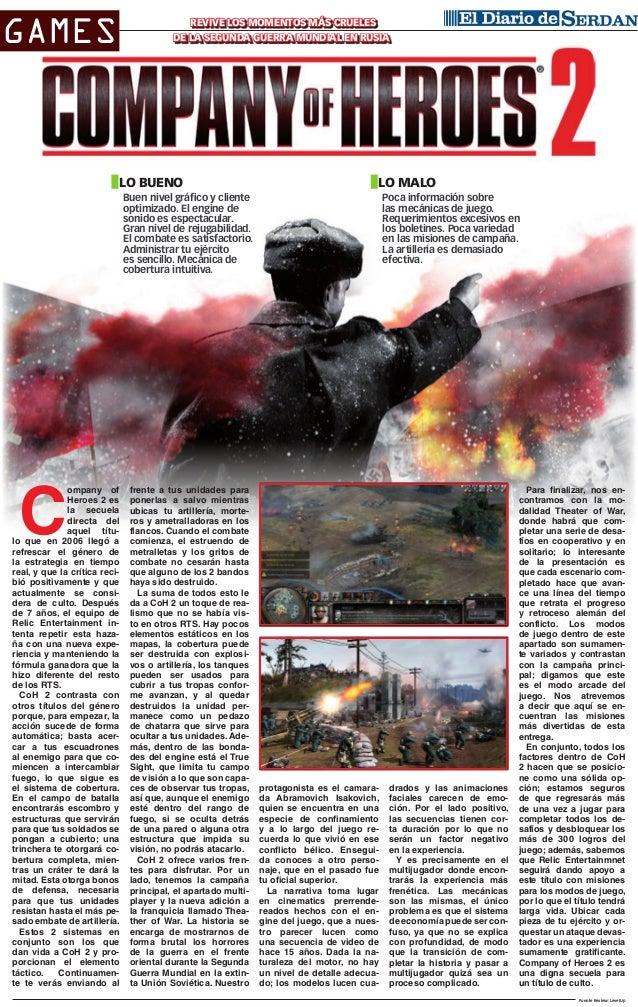 Games  Revive los momentos más crueles de la Segunda Guerra Mundial en Rusia  lo bueno  lo malo  Buen nivel gráfico y clie...