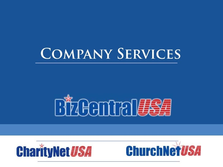 Partner Service & Sales Training<br />Company Services<br />