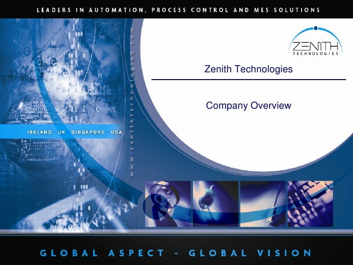 Zenith Technologies<br />Company Overview<br />