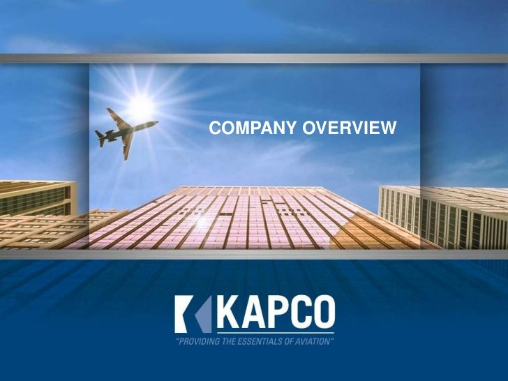 COMPANY OVERVIEW<br />