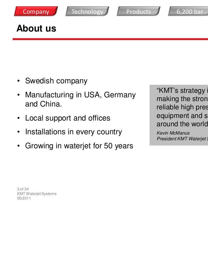 KMT Company presentation