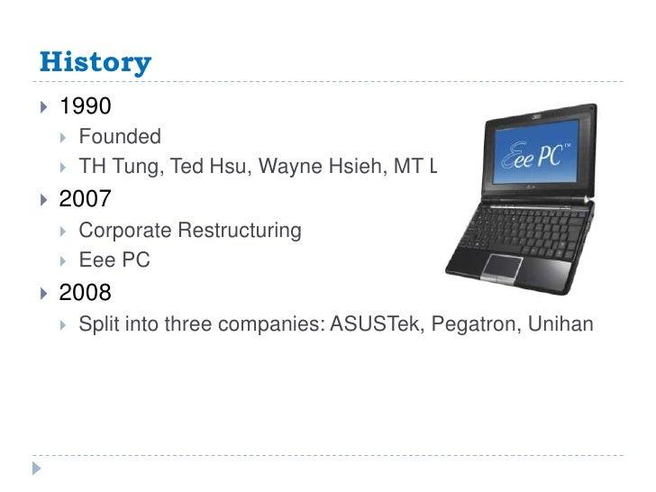 Company presentation: Asus