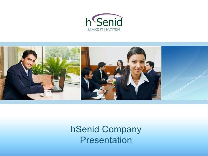 hSenid Company Presentation