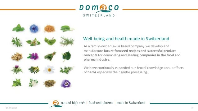 Company presentation domaco switzerland
