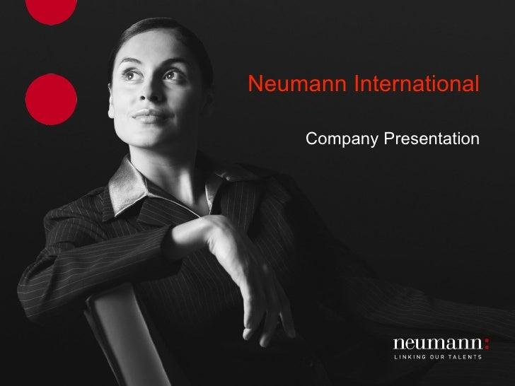 Neumann International Company Presentation