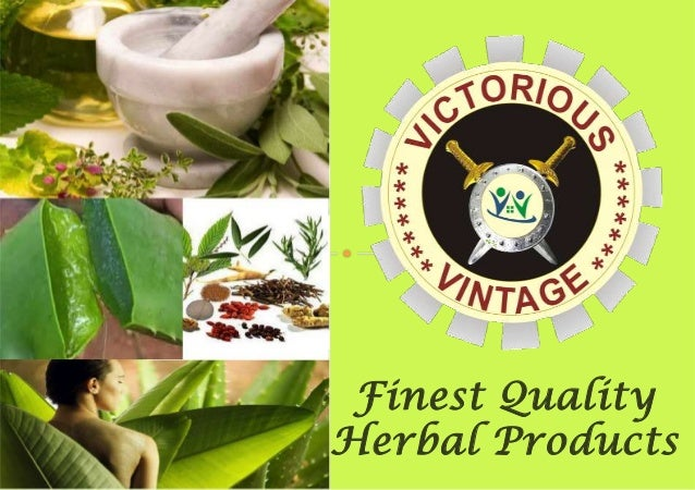 Finest Quality Herbal Products