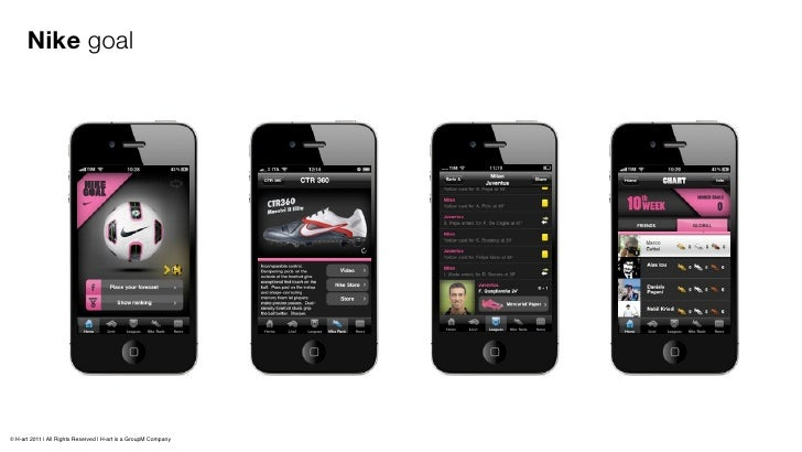 Client: Condé NastProject: iPhone Application'Glamour Persona Shopper'available on iTunes