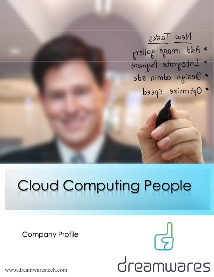 Cloud Computing PeopleCompany Profile