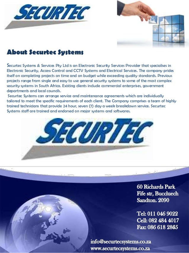 Company Profile Securtec Security Systems Amp Services