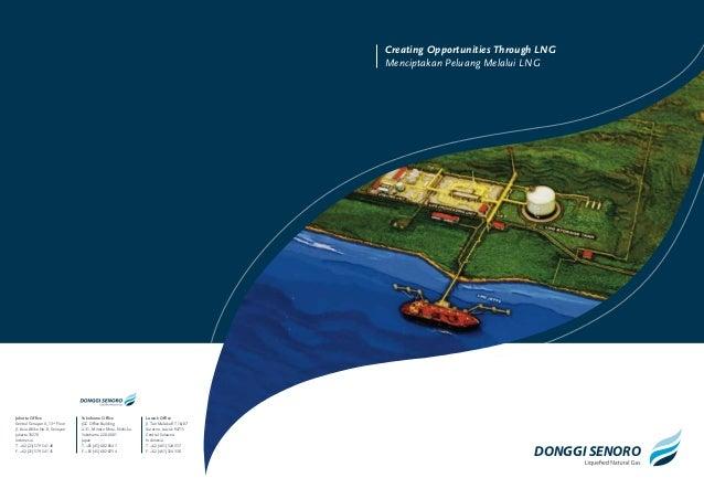 Creating Opportunities Through LNG Menciptakan Peluang Melalui LNG  Jakarta Office Sentral Senayan II, 13th Floor Jl. Asia...