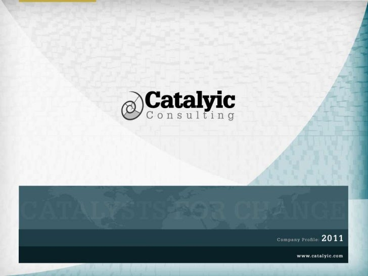 Catalyic Consulting Company Profile