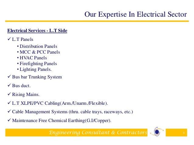 Company profileElectrical Contractors – Company Profile Format Sample