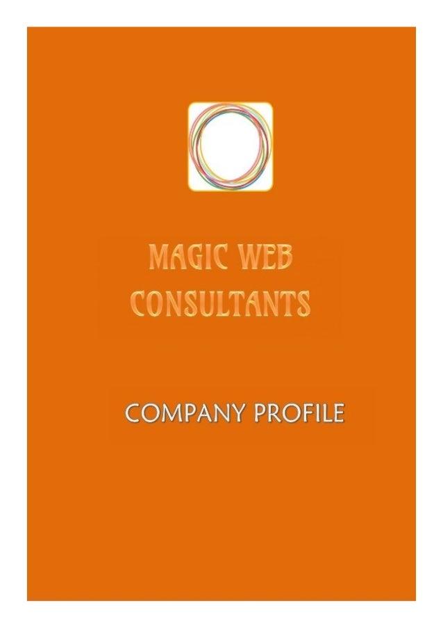 MAGIC WEB CONSULTANTS  B-9, Chandrakamal Society, Modern Colony, Shivtirth Nagar, Paud Road, Kothrud, Pune - 411038  Web &...