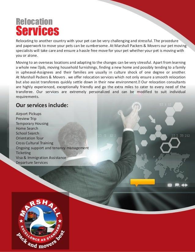 Company profile Marshall Packers & Movers Islamabad Pakistan