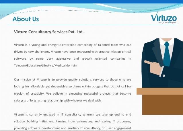 Virtuzo Consultancy Services | Software Development Company
