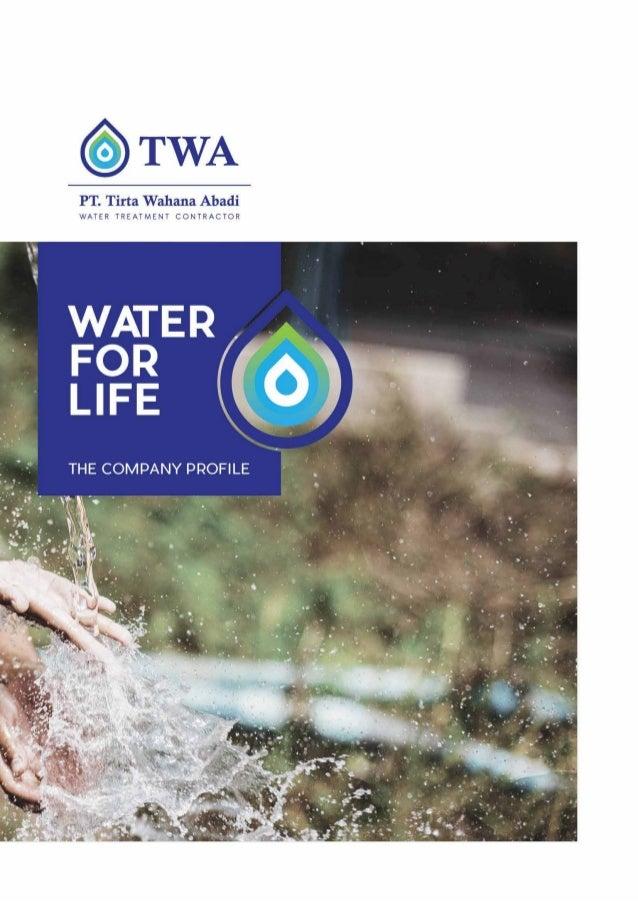 Company profile PT Tirta Wahana Abadi