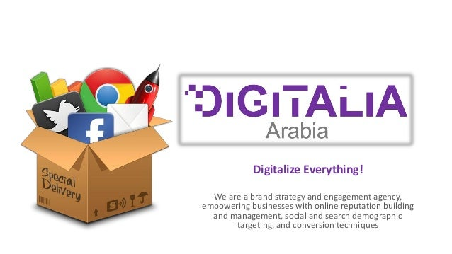 We are a brand strategy and engagement agency, empowering businesses with online reputation building and management, socia...