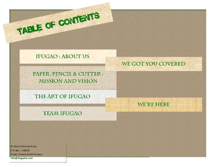 IFUGAO Works LLC - company profile