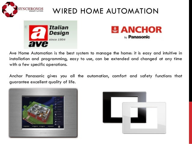 Company profile synchronos for Define home automation