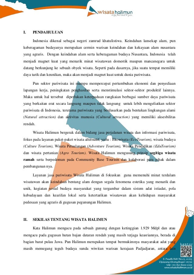 Company Profile Wisata Halimun